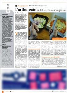 L'orthorexie ou l'obsession de manger sain